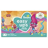 Pampers Easy Ups Diapers Size 5 (3T-4T), Pull On Disposable Training Pants for Girls, Giant Pack, 100 Count