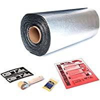45sqft GTMAT Supreme 110mil Car Road Noise Heat Blocker Sound Deadener Material
