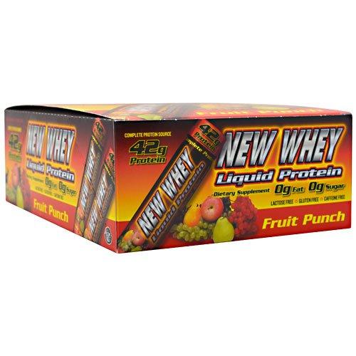 New Whey Nutrition - New Whey Liq Protein 42 Fruit, 12 shots - 42 Liquid