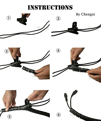Coiled Tubing Bad Day : Cable organizer coiled tube sleeve management