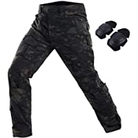 HAOYK Tactical Paintball BDU Pantalones Pantalones Airsoft Pantalones