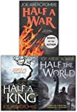 Shattered Sea Series 3 Books Collection Set by Joe Abercrombie (Half a King, Half the World, Half a War) by Joe Abercrombie (2016-11-09)