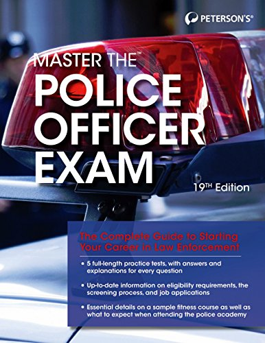 Peterson's Master the Police Officer Exam (19th 2015) [Peterson's]
