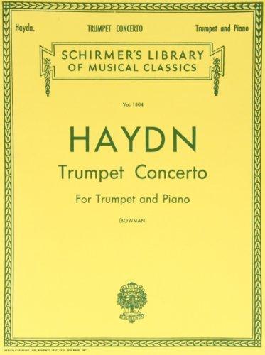 By Author Haydn: Trumpet Concerto (Schirmer's Library of Musical - Schirmer G Trumpet