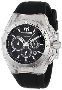 TechnoMarine Unisex 110043 Cruise Original Chronograph Black Dial Watch