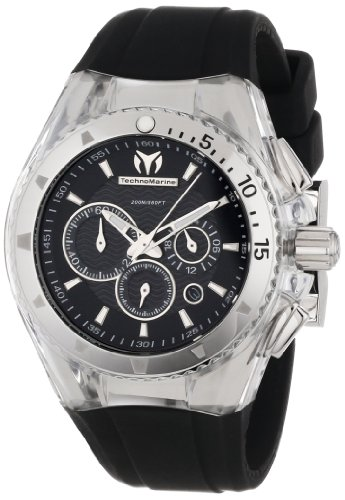 TechnoMarine Unisex 110043 Cruise Original Chronograph Black Dial ()