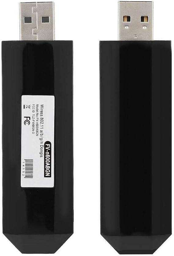 WIS09ABGN Adaptador USB inalámbrico 300Mbps 802.11n estándar, Adaptador inalámbrico USB 2.0 Tipo-A WiFi WLAN Tarjeta de Red para TV Samsung, para Windows 7/8/10: Amazon.es: Electrónica