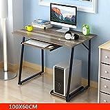 Modern Simplicity Computer Desk Assembly Learning Table Multifunction Laptop Desk Workbench 100/1206073cm ( Color : 9# )