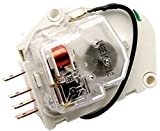 2188375 - FACTORY OEM ORIGINAL WHIRLPOOL KENMORE MAYTAG ROPER KITCHENAID MAGIC CHEF AMANA REFRIGERATOR DEFROST TIMER FOR ALL 8, 10, 12 HOUR APPLICATIONS. GROUNDLESS W/ FLYING LEAD