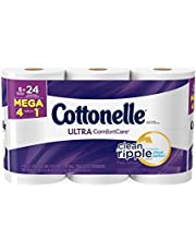 Cottonelle Ultra ComfortCare Family Roll + Toilet Paper, Bath Tissue, 36 Toilet Paper Rolls