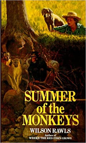 Image result for summer of the monkeys book