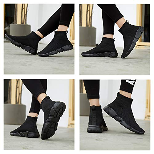 A-PIE Women's Casual Walking Shoes Breathable Lightweigh Mesh Slip-on Sneakers