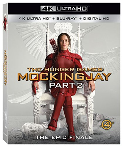The Hunger Games: Mockingjay Part 2 [4K Ultra HD + Blu-ray + Digital HD] (Hunger Games Mockingjay Part 2)