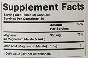 Olympian Labs Malic Acid Capsules, 1080 Count