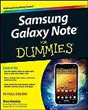 Samsung Galaxy Note For Dummies