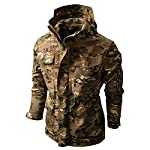 SFYZY Hoodie Veste Sweat Lourd Camouflage Zipper Workerhoodie Pull Veste Tactique Militaire Outdoor Randonnée Chasse… 9