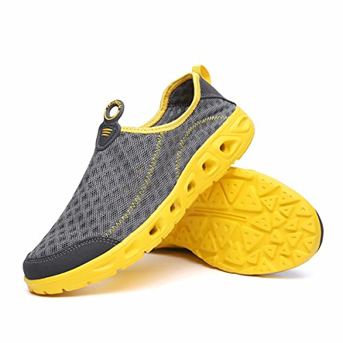 Quick Yoga Grey Shoes Water Barefoot Exercise Swimming for Beach Men Shoes Surfing Kimote Women Outdoor Dry w0qZfOZTxv