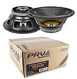 PRV Audio 8MB450 8'' Midbass Mid Range Woofer 8 ohms 900 Watts 96 dB 2'' Voice Coil 1 Pair
