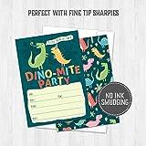 Dinosaur Kids Party Invitation Cards - Lots of Fun