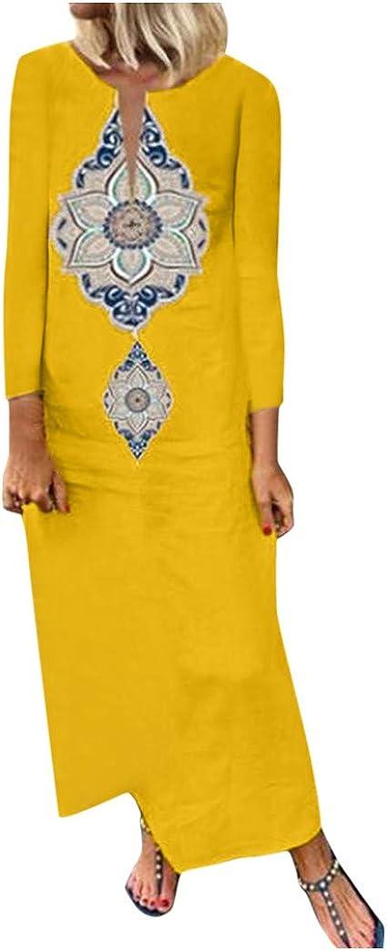 Poachers Vestidos Mujer Talla Grande Estampado Vestidos de Fiesta ...