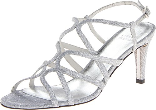 Shoes Stuart Weitzman Bridal - Stuart Weitzman Bridal & Evening Collection Women's Turningup Silver Nocturn 9 M
