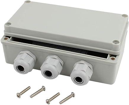 DealMux - Caja de conexión de salida con prensacables (160 x 80 x 55 mm): Amazon.es: Bricolaje y herramientas