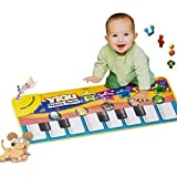 IPLUS New Touch Play Keyboard Musical Music Singing Gym Carpet Mat Best Kids Baby Gift