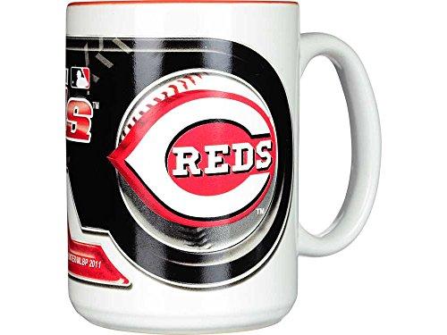 Hunter Manufacturing Cincinnati Reds 15 oz. Two-Tone Mug
