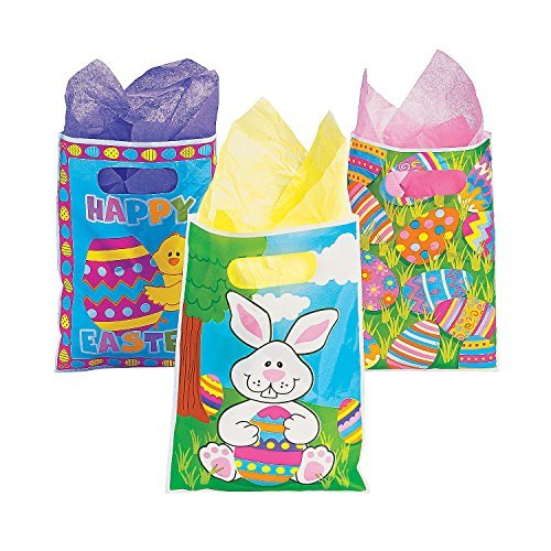 Easter Party Favor Bag Assortment  1 Dozen of Each Design Bu