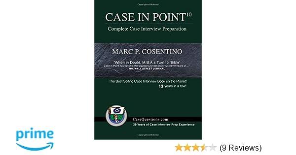 case in point 9 complete case interview preparation