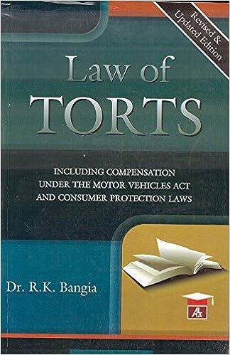 Rk Bangia Law Of Torts Pdf