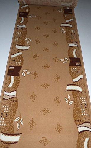 Läufer nach Maß Teppich Flur Beige 2183 lfm. 19,90 Euro Breite 100 x 500 cm