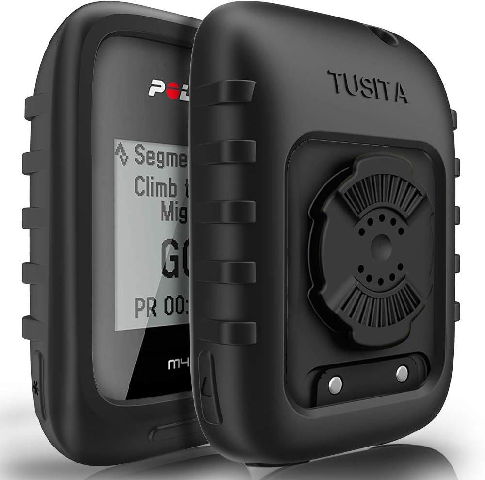 TUSITA Funda para Polar M450 M460 - Protectora de Silicona Skin - Accesorios para computadora con GPS