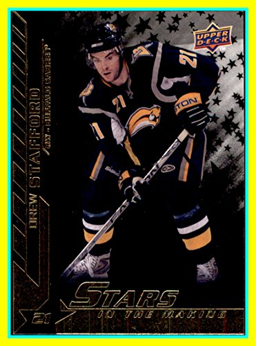 (2007-08 Upper Deck Stars In The Making #SM7 Drew Stafford buffalo sabres)