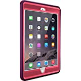 OtterBox DEFENDER SERIES Case for iPad Mini 1/2/3 - Frustration Free Packaging - CRUSHED DAMSON (BLAZE PINK/DAMSON PURPLE)