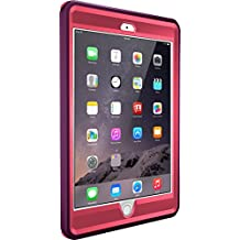 OtterBox DEFENDER SERIES Case for iPad Mini 1/2/3 - Retail Packaging - CRUSHED DAMSON (BLAZE PINK/DAMSON PURPLE)