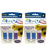 retail PedEgg Power Replacement Rollers by BulbHead - Retail Packaging - (2 Packs of 3)