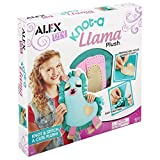 ALEX DIY Knot-a Llama Plush, Purple