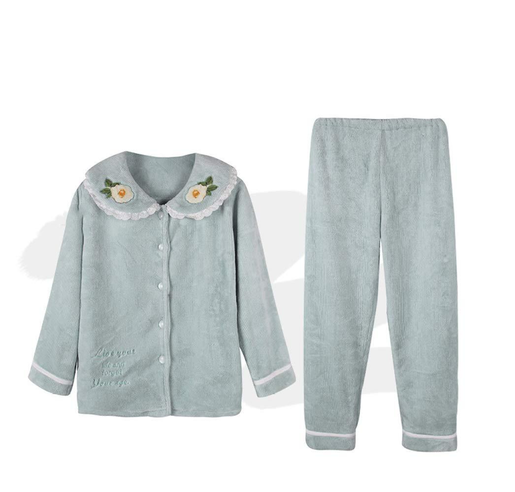 WWF Sra. Coral Velvet Pijamas Invierno Plus CháNdal de Terciopelo ...