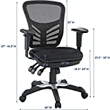 Modway Articulate Ergonomic Mesh Office Chair in