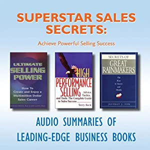 Superstar Sales Secrets Audiobook