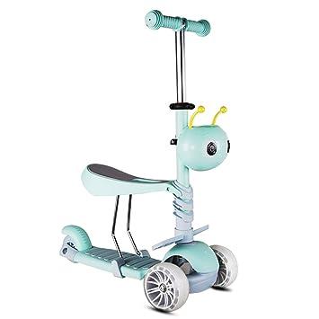 Scooter Patinete para niños de 3 Ruedas para niñas/niños ...