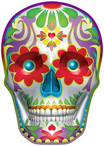 (Sugar Skull Novelty Sign | Indoor/Outdoor | Funny Home Décor for Garages, Living Rooms, Bedroom, Offices | SignMission Personalized Gift Wall Plaque Decoration)