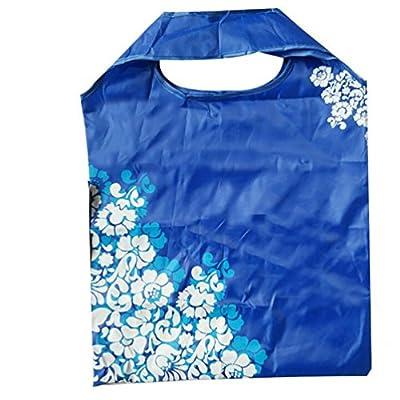 Goodlock Foldable Reusable Carry Bags Nylon Eco Handbags Storage Travel Shopping Tote Grocery Bags