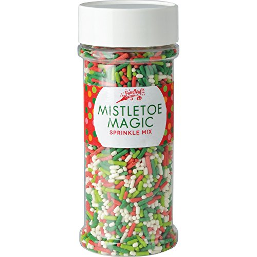 Festival Mistletoe Magic Sprinkle Mix 4.6oz (Holly Baking)