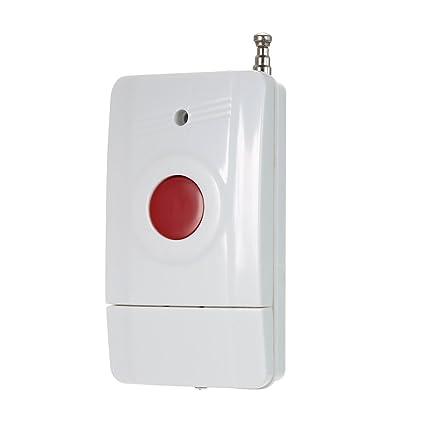 OWSOO 433MHz Botón SOS Botón de Emergencia Inalámbrico para ...