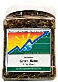 Mother Earth Products Dried Green Beans, 1 Full Quart