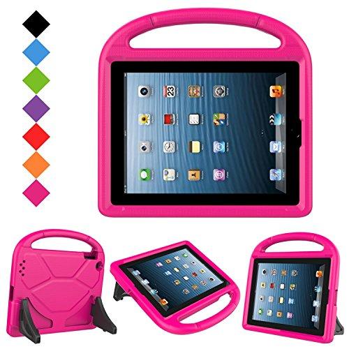 BMOUO iPad 4, iPad 3 and iPad 2 Kids Case, Light Weight Shoc