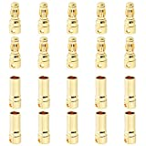 10 Sets Hobbypark Female Male 3.5mm Gold Bullet Banana Connectors RC ESC LIPO Battery Device Electric Motor Wire Parts