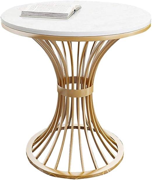 DXJNI - Tables basses en Fer forgé doré, Table Ronde de ...